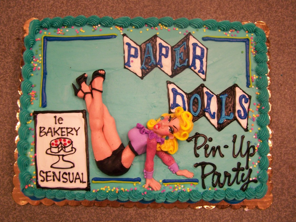 pin up girl le bakery sensual