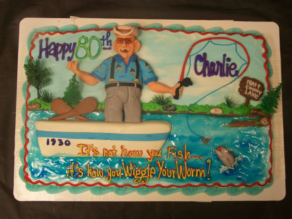 Fishing birthday cake le Bakery Sensual