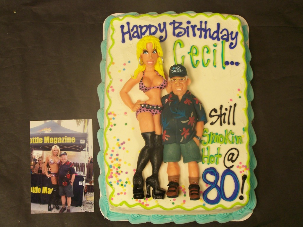 Old guy and babe cake - le\' Bakery Sensual