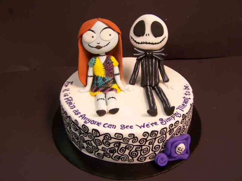 Nightmare Before Christmas Cake Le Bakery Sensual