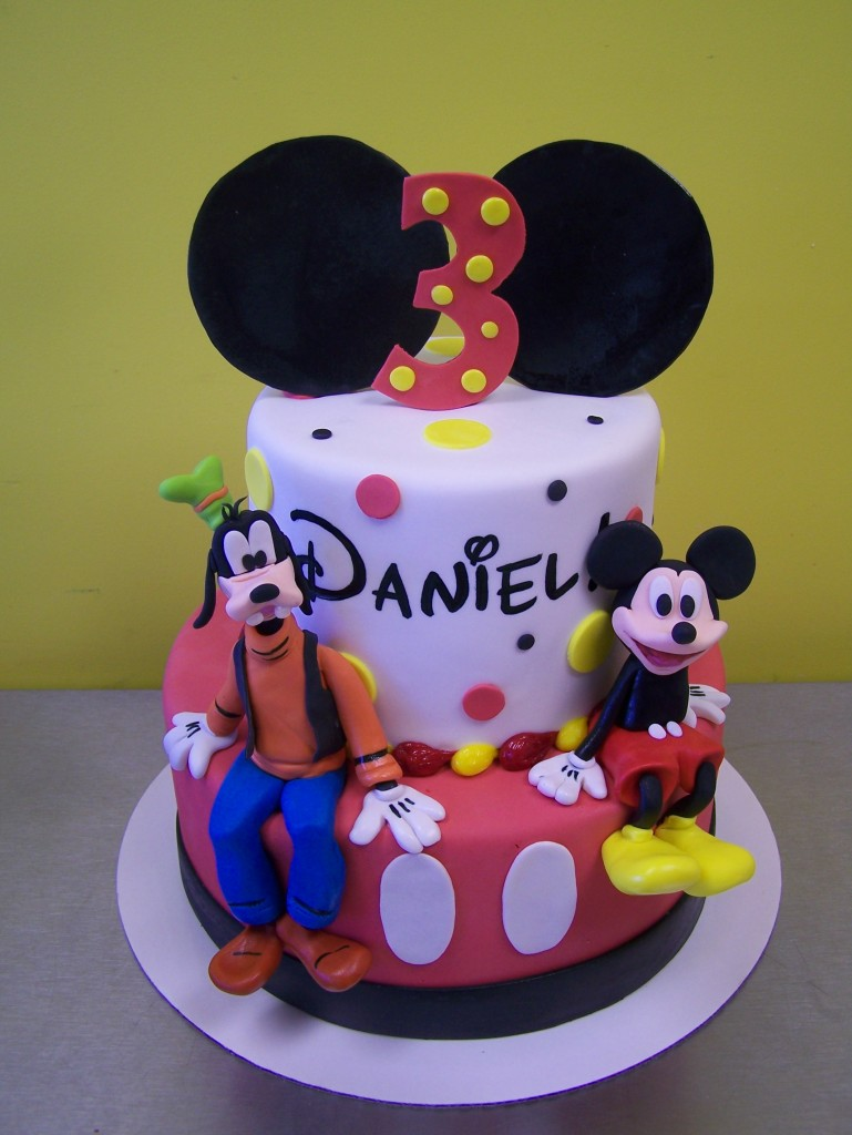 Mickey Mouse And Goofy Birthday Cake Le Bakery Sensual