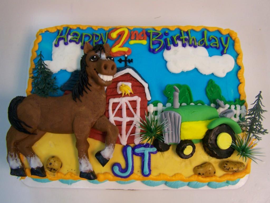 Farm Birthday Cake Le Bakery Sensual
