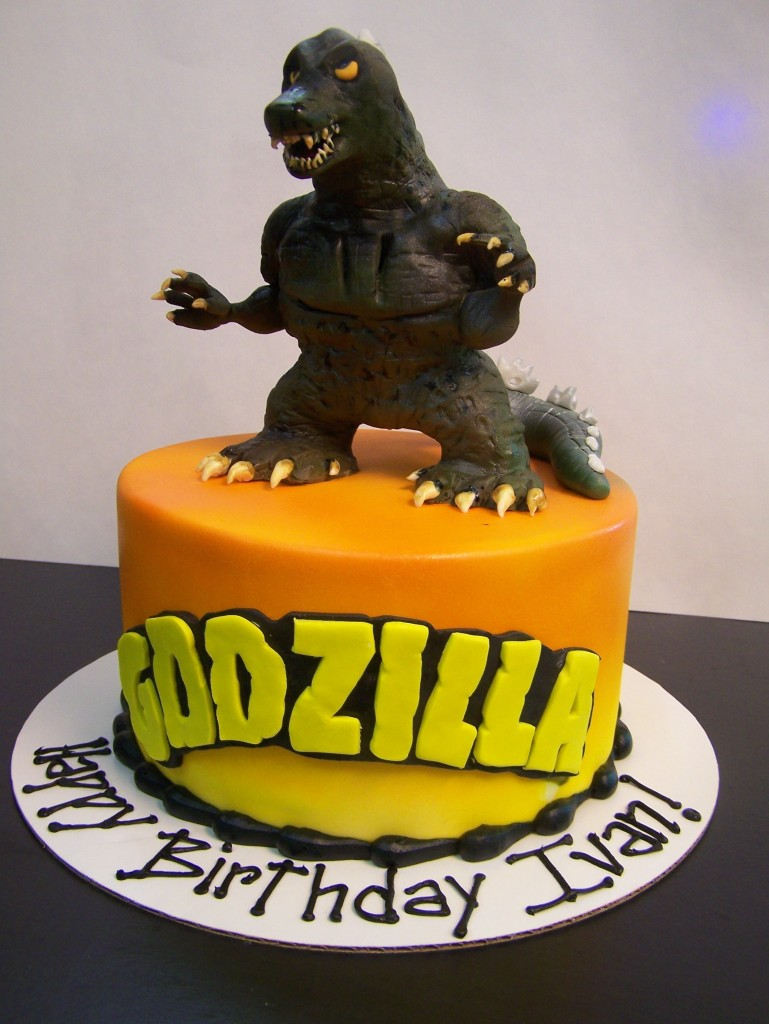 Godzilla Theme Cakes