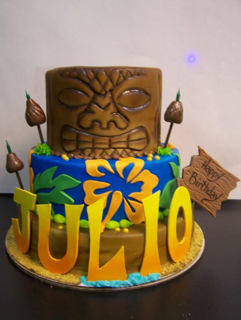 Tiki Birthday Cake Le Bakery Sensual