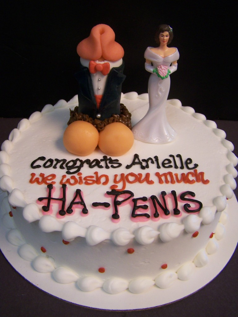 Posted in Bachelorette , Bridal Shower Cakes , Cake Toppers , Custom ...: lebakerysensual.com/1999/06/penis-wedding