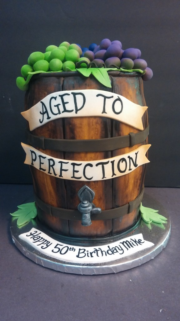 Wine Barrel Cake Le Bakery Sensual