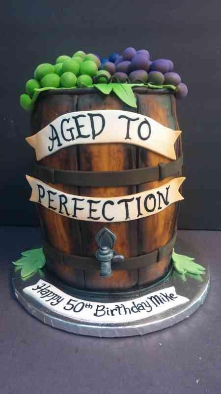 Wine Barrel Cake Le Bakery Sensual