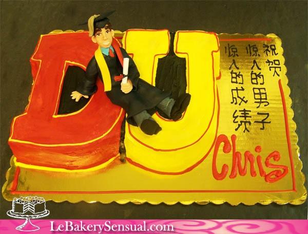 DU_graduation_cake