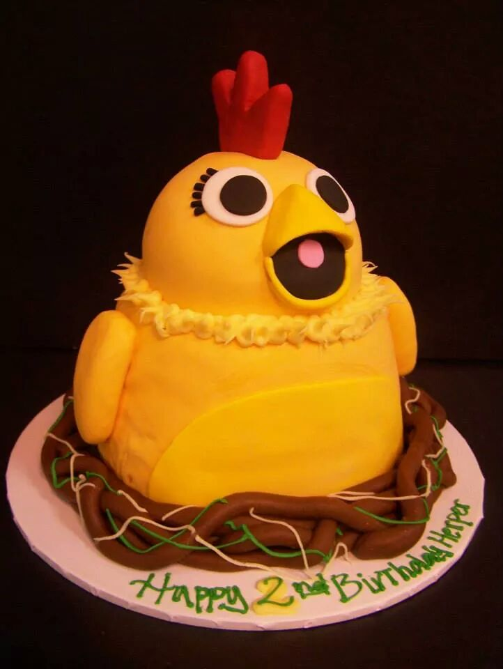 Nesting chicken cake - le\' Bakery Sensual