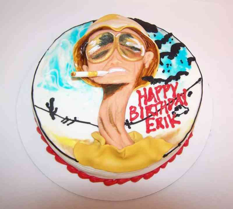 Fear And Loathing In Las Vegas Birthday Cake Le Bakery Sensual