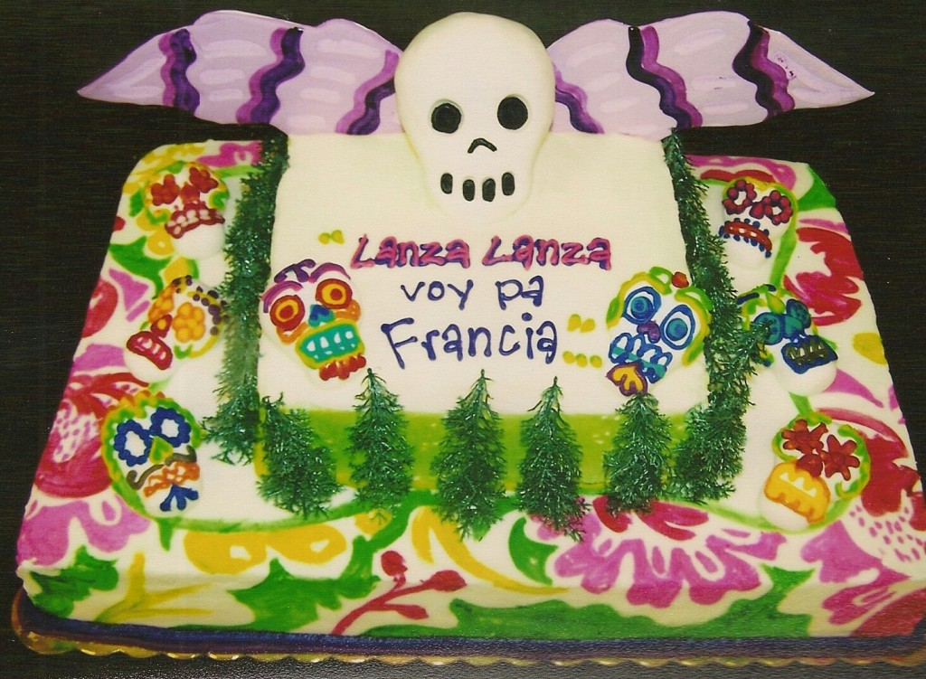 Day Of The Dead Themed Cake Le Bakery Sensual