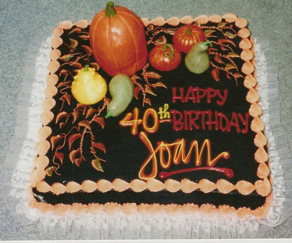 Autumn Themed Birthday Cake Le Bakery Sensual
