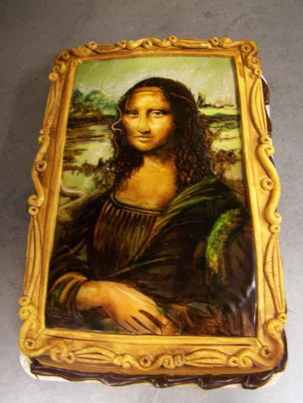 Mona Lisa Cake Le Bakery Sensual
