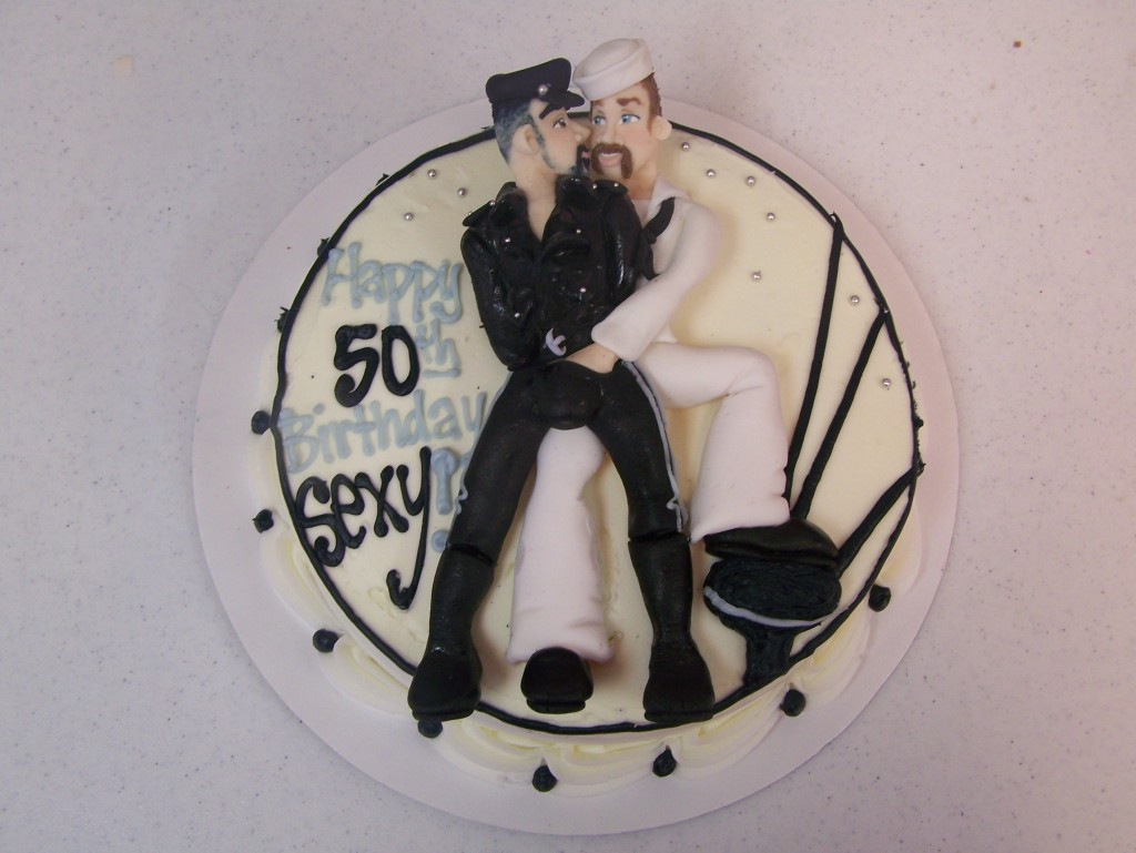Tom Of Finland Cake Le Bakery Sensual