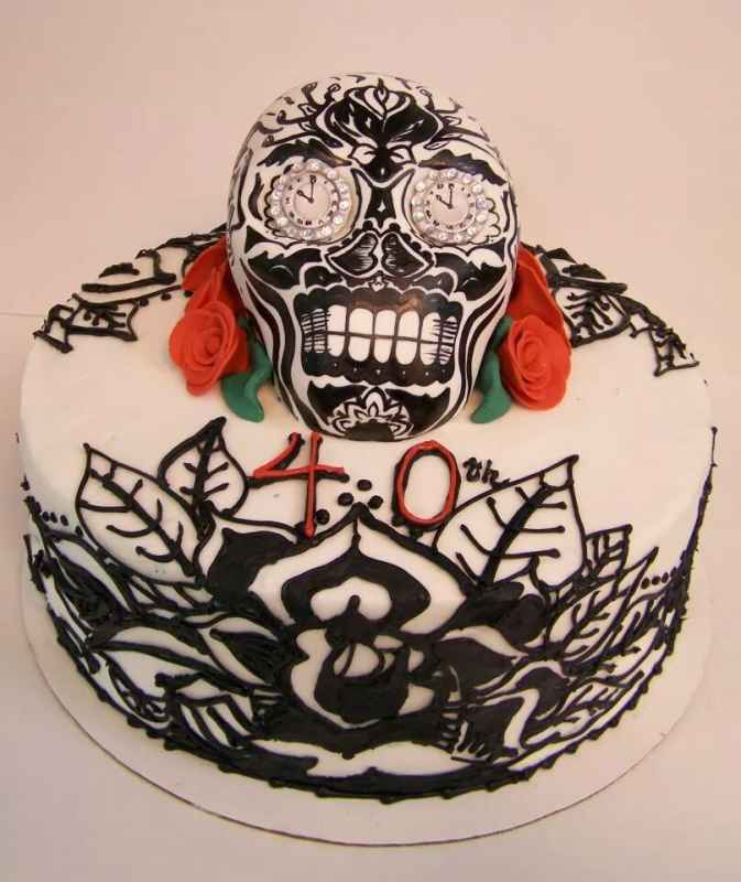 Posted In Dia De Los Muertos Cakes Sweets Grown Up Birthday