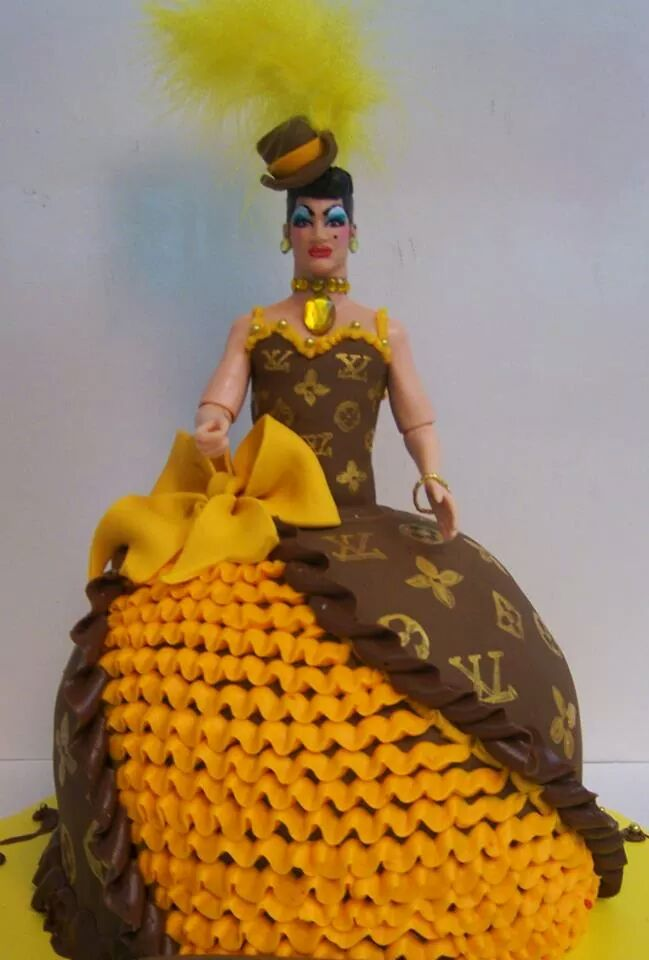 Louis Vitton Drag Queen Cake Le Bakery Sensual