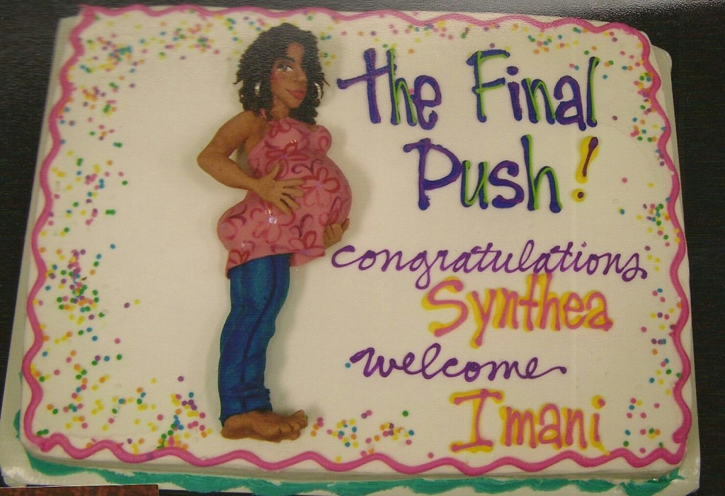The Final Push Baby Shower Cake Le Bakery Sensual