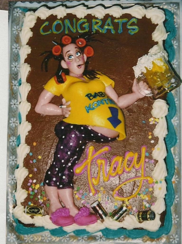 White Trash Baby Shower Cake Le Bakery Sensual