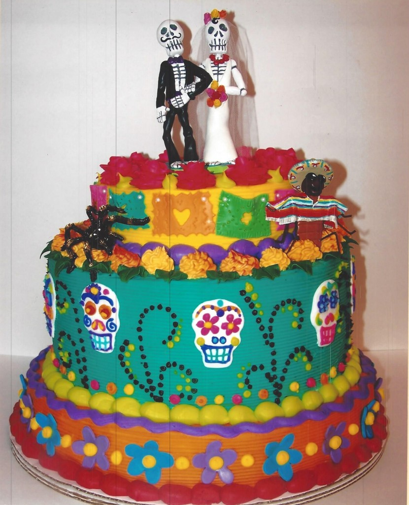 Day Of The Dead Wedding Cake Le Bakery Sensual