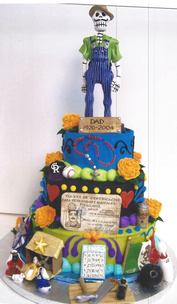 Day Of The Dead Father Tribute Cake Le Bakery Sensual