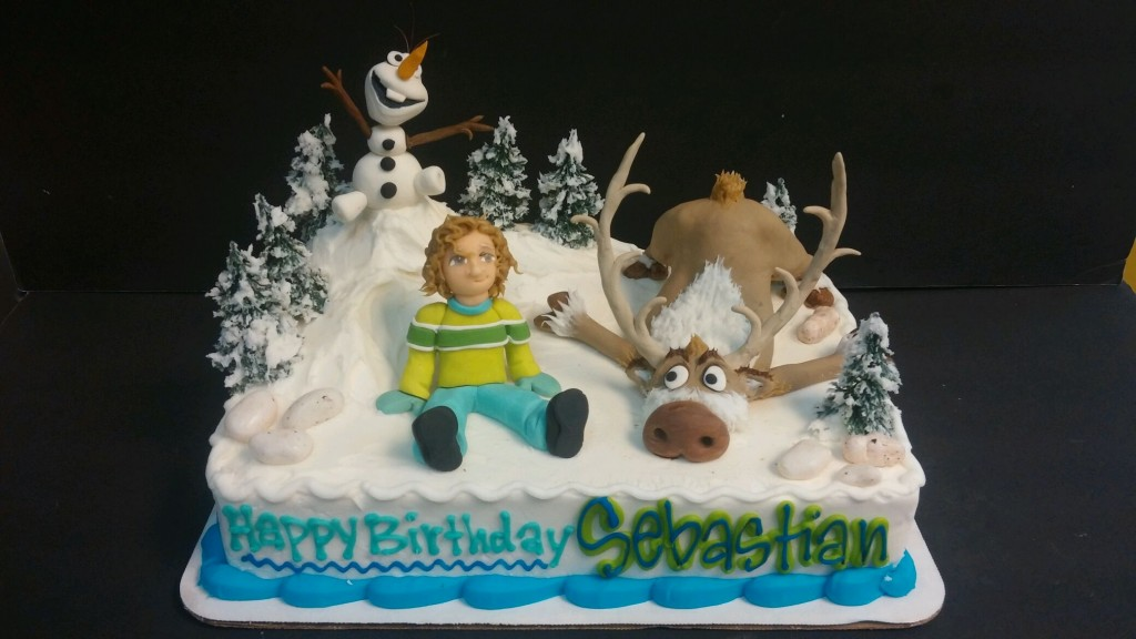 Frozen Themed Birthday Cake Le Bakery Sensual