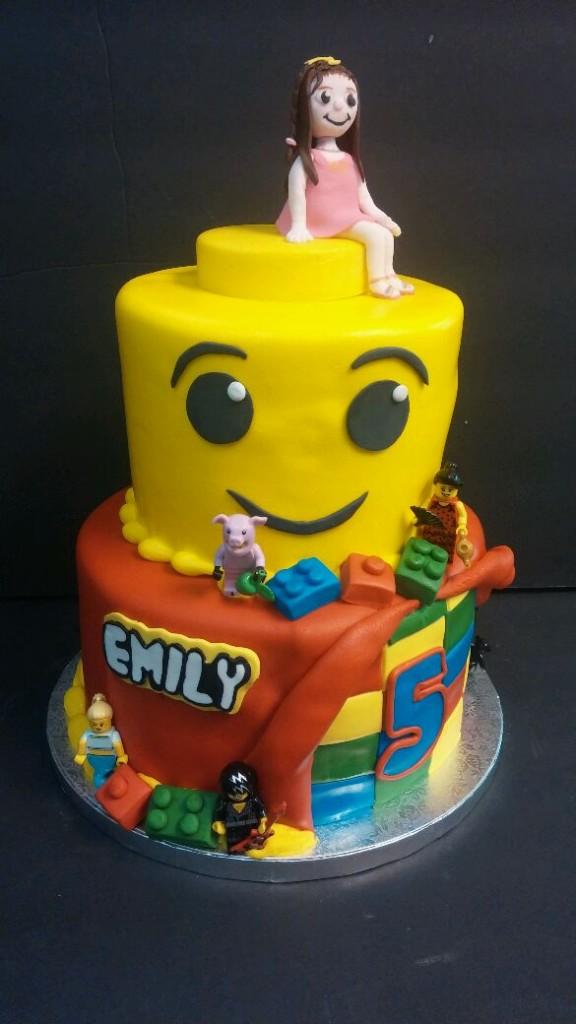 Lego Birthday Cake Le Bakery Sensual