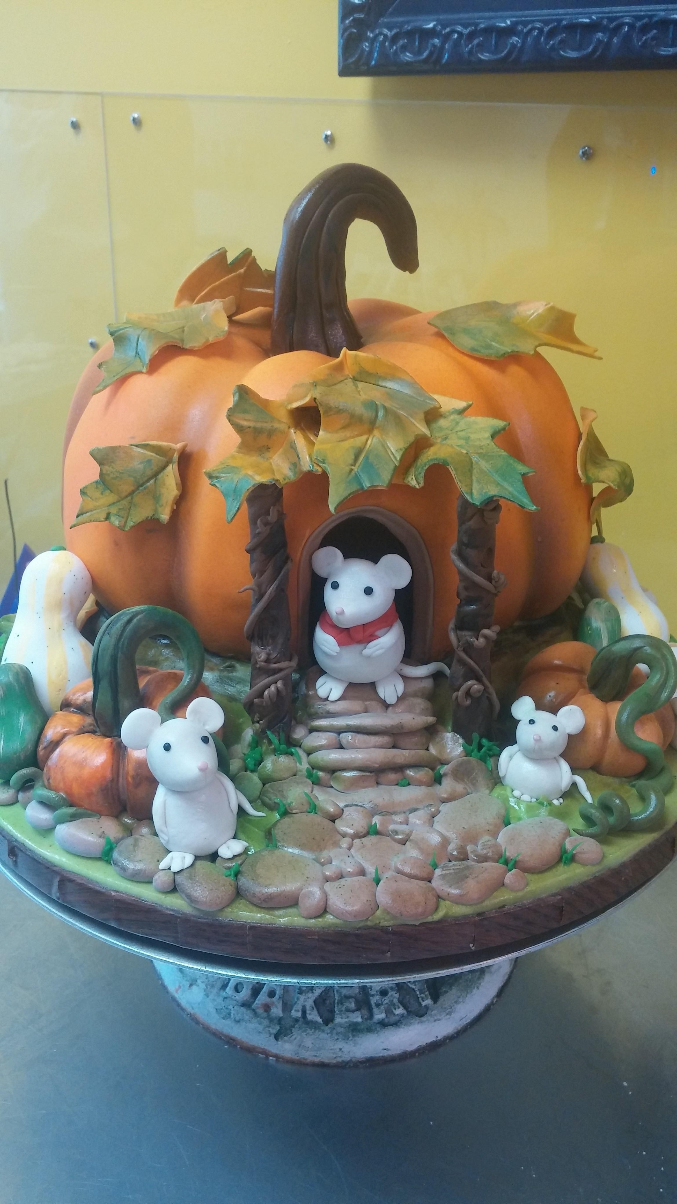 Denver Baby Shower Cake