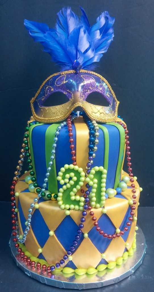 Posted In Custom Cakes Grown Up Birthday Stacked CakesTagged Gras Mardi New Orleans Nola