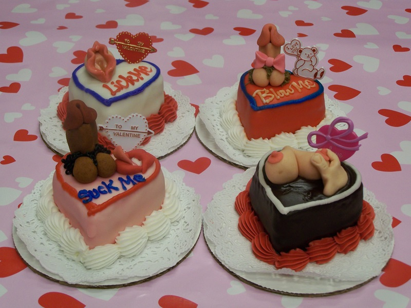 Valentines Day Genital Cakes Le Bakery Sensual
