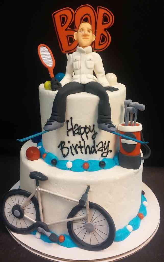 Skiing Tennis Golf Biking Cake Le Bakery Sensual