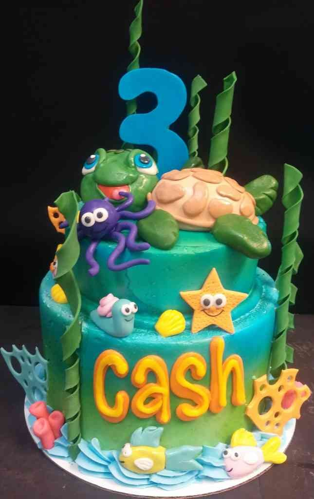 Turtle Under The Sea Cake Le Bakery Sensual