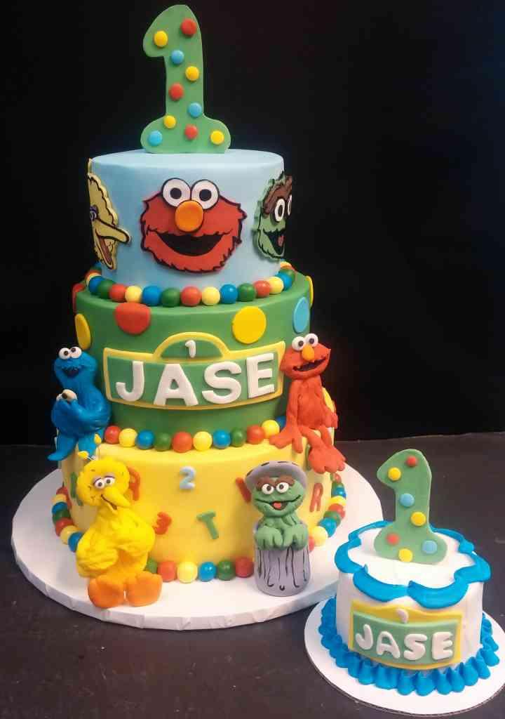 Sesame Street Characters Cake Le Bakery Sensual