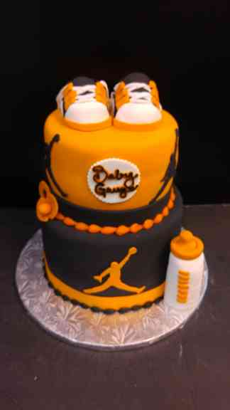 Air Jordan baby shower cake le Bakery Sensual