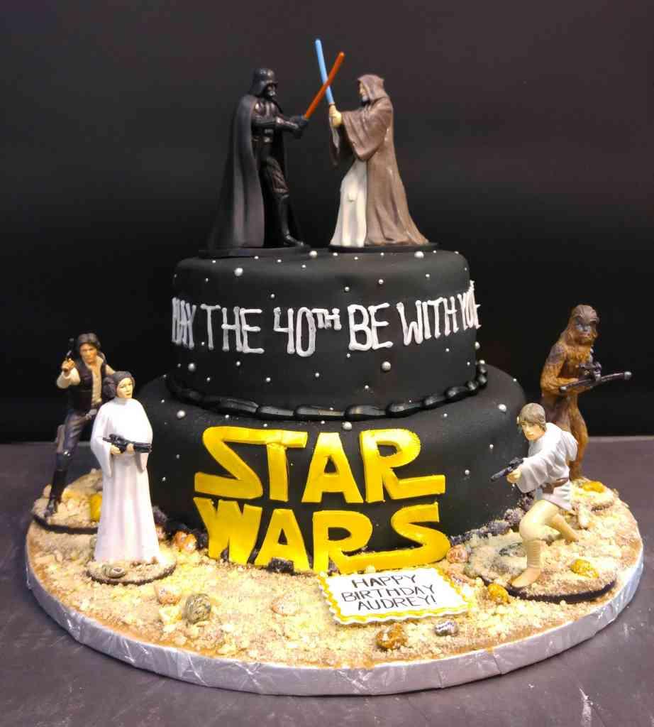 Star Wars Figurine Cake Le Bakery Sensual