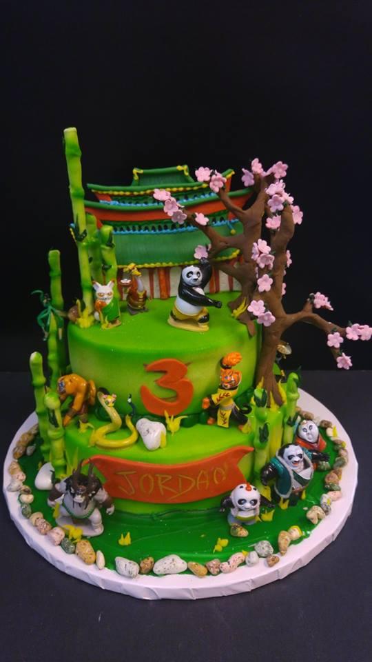 Kung Fu Panda Cake Le Bakery Sensual