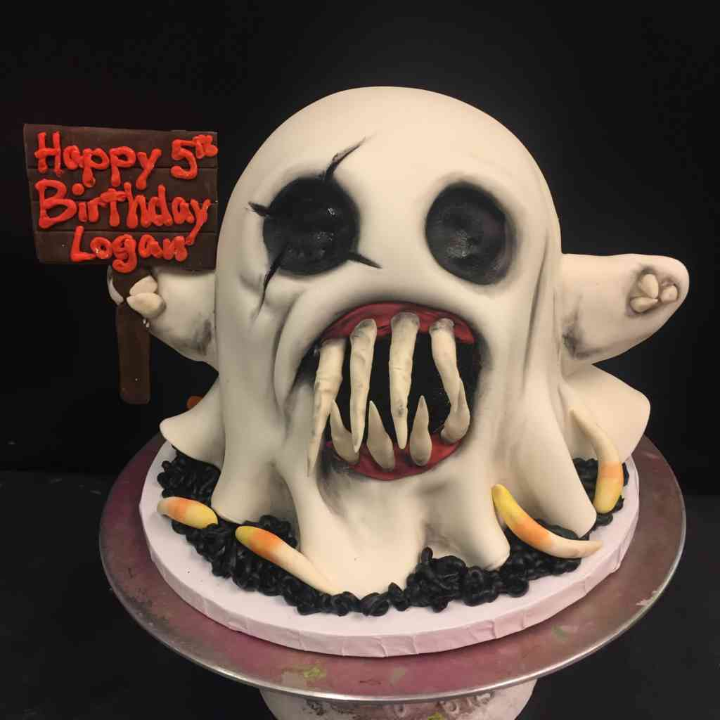 Ghost Cake Back Le Bakery Sensual